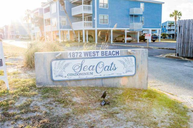 1872 W Beach Blvd B-102, Gulf Shores, AL 36542 (MLS #274715) :: ResortQuest Real Estate