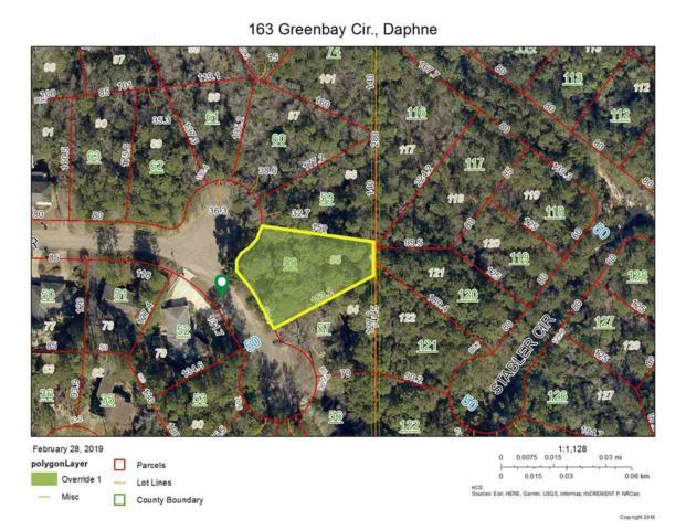 163 Greenbay Cir, Daphne, AL 36526 (MLS #280300) :: Coldwell Banker Coastal Realty