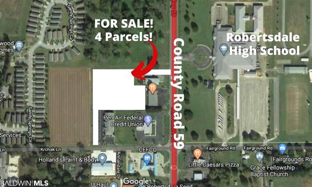 0 Highway 59, Robertsdale, AL 36567 (MLS #296800) :: Elite Real Estate Solutions