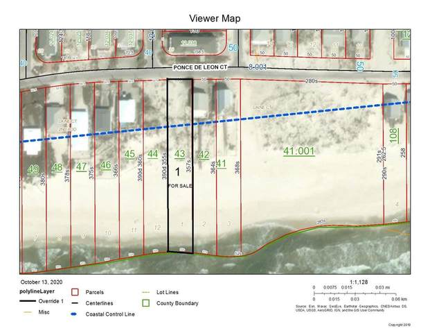 lot 1 Ponce De Ponce De Leon Court, Gulf Shores, AL 36542 (MLS #304975) :: Ashurst & Niemeyer Real Estate