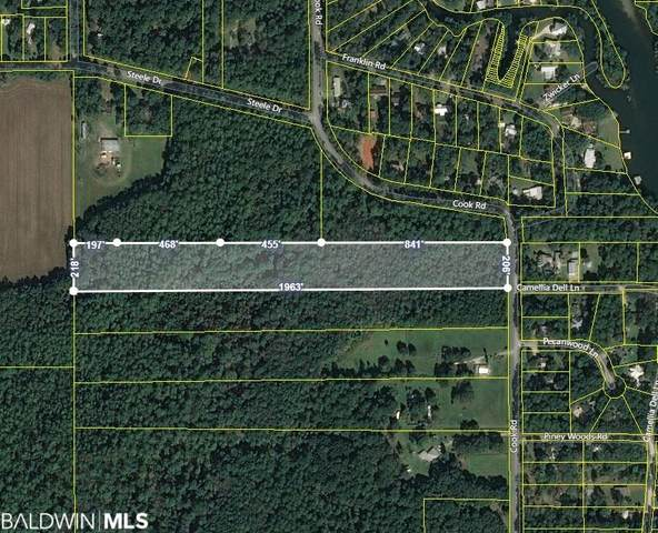 0 Cook Road, Foley, AL 36535 (MLS #310122) :: Sold Sisters - Alabama Gulf Coast Properties