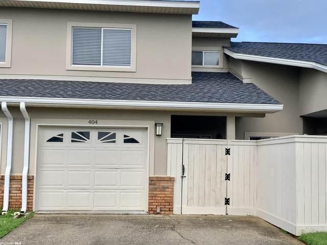 501 Cotton Creek Dr #404, Gulf Shores, AL 36542 (MLS #319222) :: Bellator Real Estate and Development
