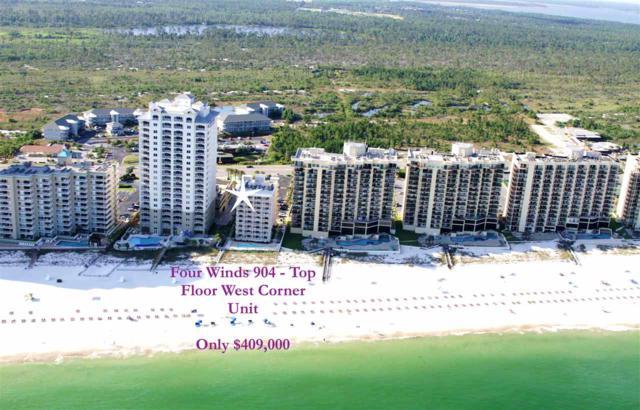 24114 Perdido Beach Blvd #904, Orange Beach, AL 36561 (MLS #276096) :: Ashurst & Niemeyer Real Estate