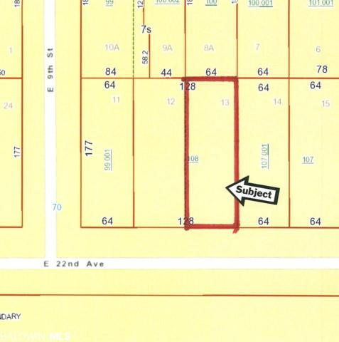 Lot 13 E 22nd Avenue, Gulf Shores, AL 36542 (MLS #282450) :: Coldwell Banker Coastal Realty