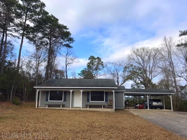 2421 Travis Rd, Brewton, AL 36426 (MLS #265413) :: Elite Real Estate Solutions