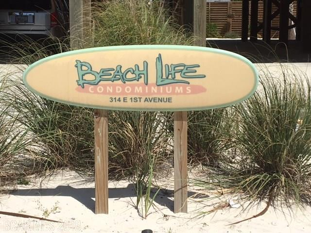 314 E 1st Avenue 3B, Gulf Shores, AL 36542 (MLS #267946) :: The Kim and Brian Team at RE/MAX Paradise