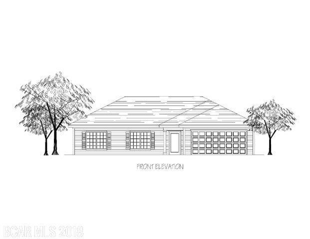 258 Lakefront Circle, Summerdale, AL 36580 (MLS #271299) :: Gulf Coast Experts Real Estate Team