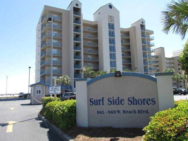 965 W Beach Blvd #2202, Gulf Shores, AL 36542 (MLS #271353) :: The Premiere Team