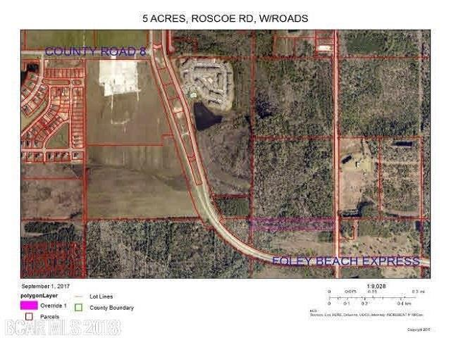0 Roscoe Rd, Gulf Shores, AL 36542 (MLS #277777) :: Coldwell Banker Coastal Realty
