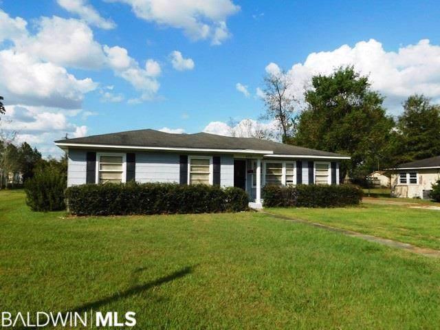 613 E Poplar St, Atmore, AL 36502 (MLS #290037) :: Dodson Real Estate Group