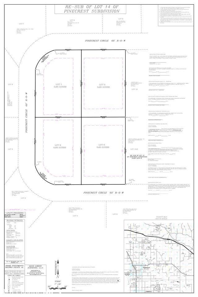 Pinecrest Circle, Robertsdale, AL 36567 (MLS #290338) :: Jason Will Real Estate
