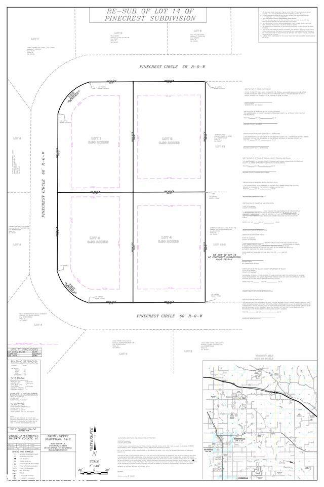 Pinecrest Circle, Robertsdale, AL 36567 (MLS #290339) :: Jason Will Real Estate