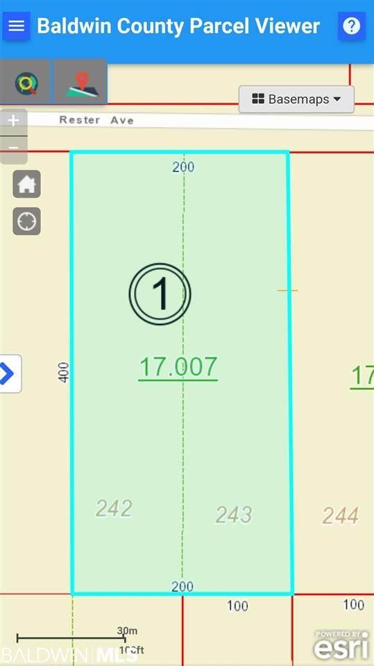 0 Rester Av, Lillian, AL 36549 (MLS #303933) :: Elite Real Estate Solutions