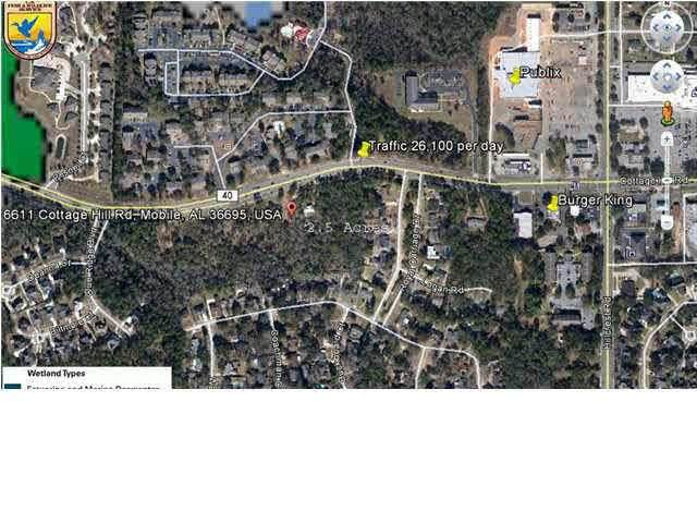 6611 Cottage Hill Rd, Mobile, AL 36695 (MLS #307879) :: Sold Sisters - Alabama Gulf Coast Properties