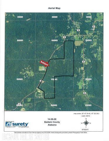 0 Whitehouse Fork Road, Bay Minette, AL 36507 (MLS #235031) :: Bellator Real Estate & Development
