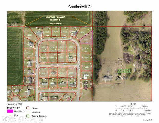 0 Eagles Lane, Robertsdale, AL 36567 (MLS #243437) :: Elite Real Estate Solutions