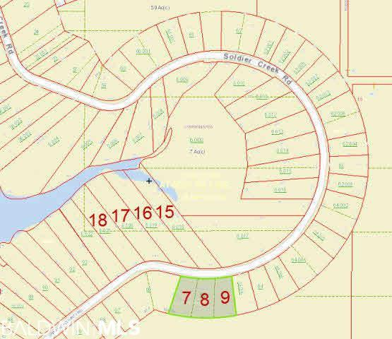 0 Soldier Creek Rd, Lillian, AL 36549 (MLS #281204) :: Gulf Coast Experts Real Estate Team