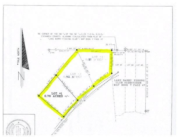 0 Buddy Lake Road, Brewton, AL 36426 (MLS #282947) :: JWRE Powered by JPAR Coast & County