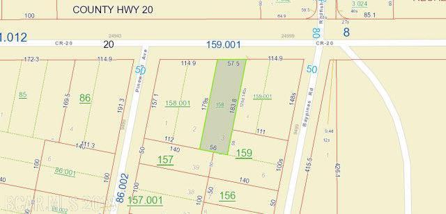 0 County Road 20, Elberta, AL 36530 (MLS #232041) :: Gulf Coast Experts Real Estate Team