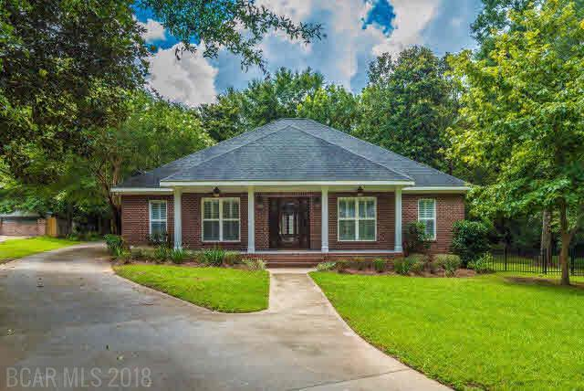 11700 Village Green Dr, Magnolia Springs, AL 36555 (MLS #256170) :: Elite Real Estate Solutions