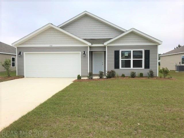 17361 Harding Drive, Foley, AL 36535 (MLS #262172) :: Karen Rose Real Estate