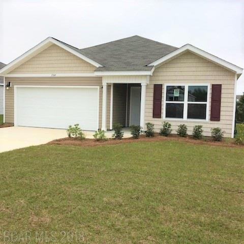 17349 Harding Drive, Foley, AL 36535 (MLS #262173) :: Karen Rose Real Estate