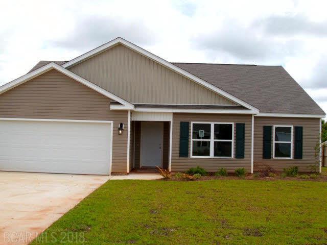 16558 Walstan Drive, Loxley, AL 36551 (MLS #248391) :: Elite Real Estate Solutions