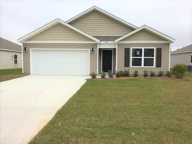 17465 Harding Drive, Foley, AL 36535 (MLS #257674) :: Karen Rose Real Estate