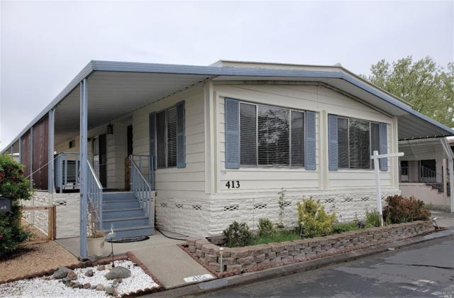 413 Burgundy So., Calistoga, CA 94515 (#21809556) :: W Real Estate | Luxury Team