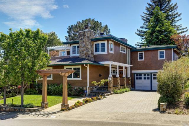 9 Blue Rock Court, Corte Madera, CA 94925 (#21811267) :: Ben Kinney Real Estate Team