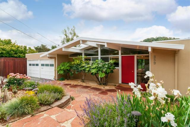 839 Greenberry Lane, San Rafael, CA 94903 (#21812196) :: Ben Kinney Real Estate Team