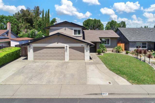 345 Bishop Drive, Vacaville, CA 95687 (#21812551) :: RE/MAX GOLD