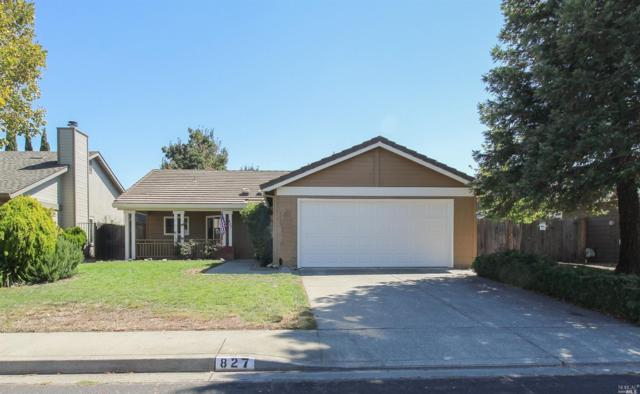 827 Calico Trail, Vacaville, CA 95687 (#21824602) :: RE/MAX GOLD
