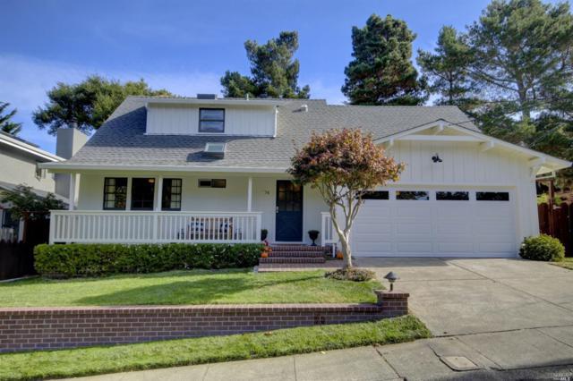 74 El Camino Drive, Corte Madera, CA 94925 (#21827985) :: Rapisarda Real Estate