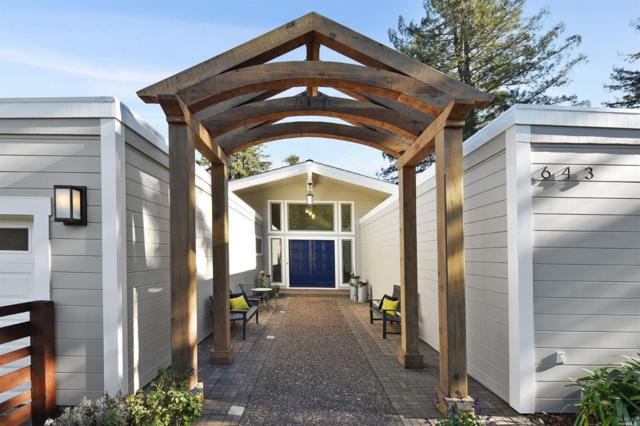 643 Northern Avenue, Mill Valley, CA 94941 (#21828962) :: Windermere Hulsey & Associates