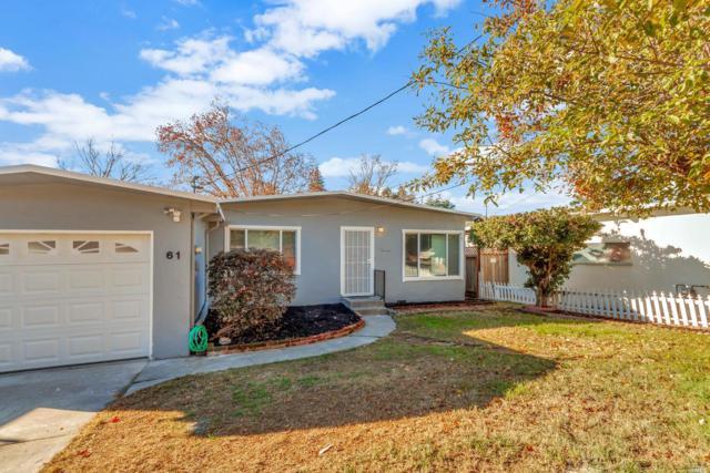 61 Denfield Avenue, Benicia, CA 94510 (#21829732) :: RE/MAX GOLD