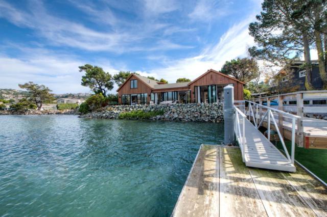 1 W Shore Road, Belvedere, CA 94920 (#21829887) :: W Real Estate | Luxury Team