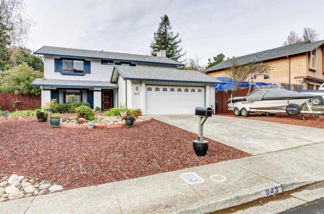 943 Rose Drive, Benicia, CA 94510 (#21830277) :: Lisa Imhoff   Coldwell Banker Kappel Gateway Realty