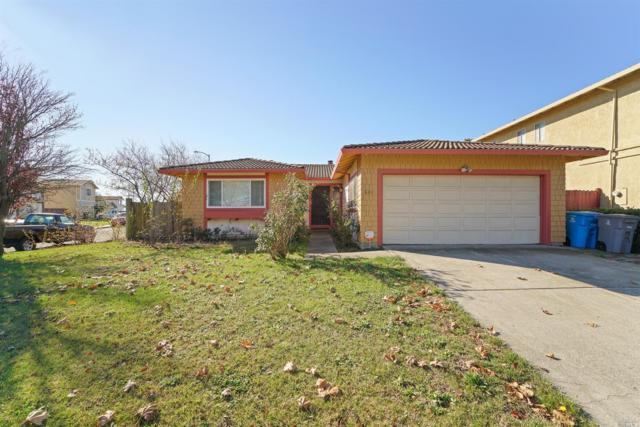 601 Auburn Drive, Vallejo, CA 94589 (#21830633) :: Rapisarda Real Estate