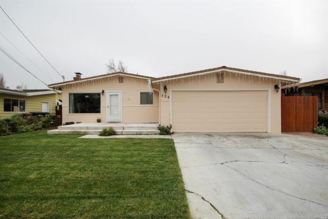 524 Raymond Drive, Benicia, CA 94510 (#21831127) :: Michael Hulsey & Associates