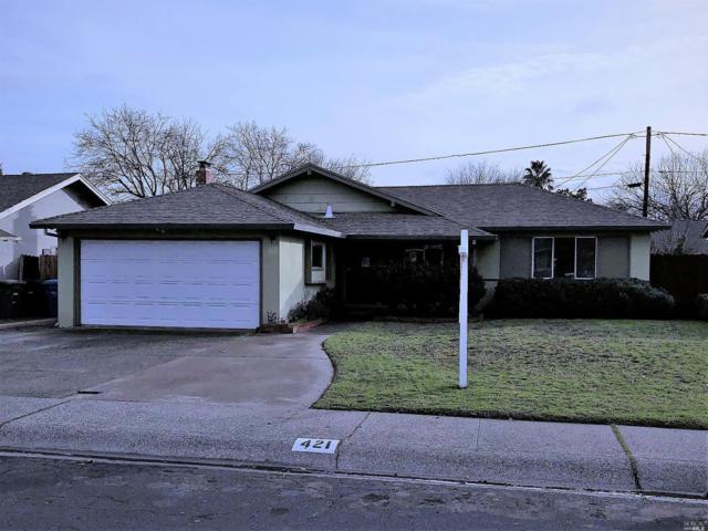 421 Elder Street, Vacaville, CA 95688 (#21900458) :: Michael Hulsey & Associates
