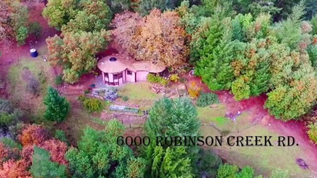 6000 Robinson Creek Road, Ukiah, CA 95482 (#21902977) :: Ben Kinney Real Estate Team