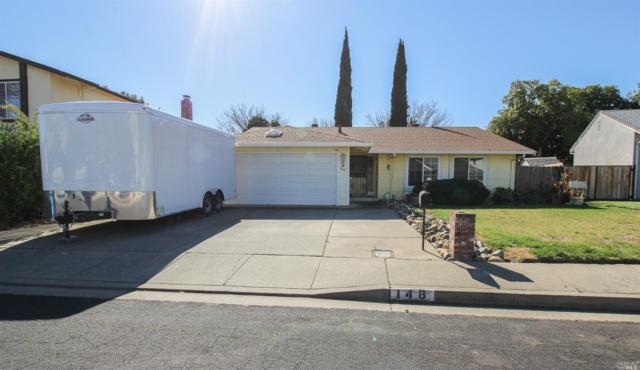 148 Lakehurst Drive, Vacaville, CA 95687 (#21905669) :: Michael Hulsey & Associates