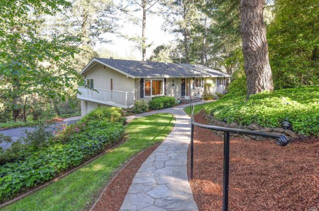 170 Edgewood Place, Angwin, CA 94508 (#21914000) :: Rapisarda Real Estate