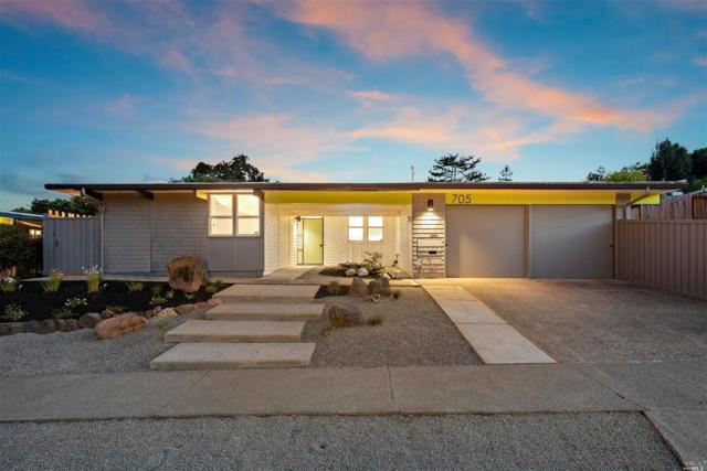 705 Montecillo Road, San Rafael, CA 94903 (#21915370) :: W Real Estate | Luxury Team