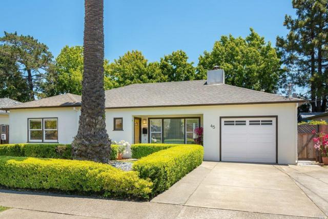 45 Mohawk Avenue, Corte Madera, CA 94925 (#21917368) :: Rapisarda Real Estate