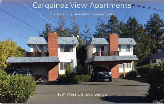 1081 W L Street, Benicia, CA 94510 (#21927698) :: Team O'Brien Real Estate