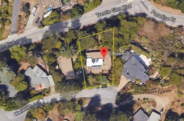 4 Warren Court, Tiburon, CA 94920 (#21929647) :: Team O'Brien Real Estate