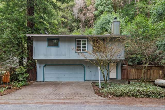 14491 Old Cazadero Road, Guerneville, CA 95446 (#22003270) :: RE/MAX GOLD