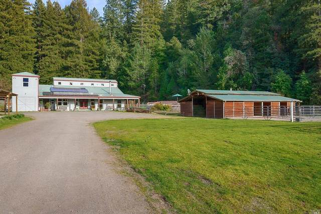 15015 Armstrong Woods Road, Guerneville, CA 95446 (#22003622) :: RE/MAX GOLD